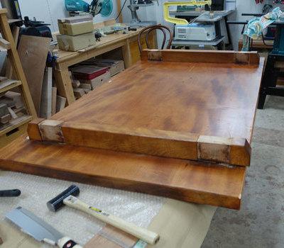 栃の座卓をリメイクのサムネイル