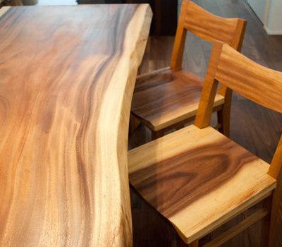 一枚板の家具でコーディネートしてオープンハウス Part1のサムネイル