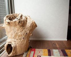 一枚板の家具でコーディネートしてオープンハウス Part2
