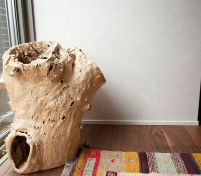 一枚板の家具でコーディネートしてオープンハウス Part2のサムネイル